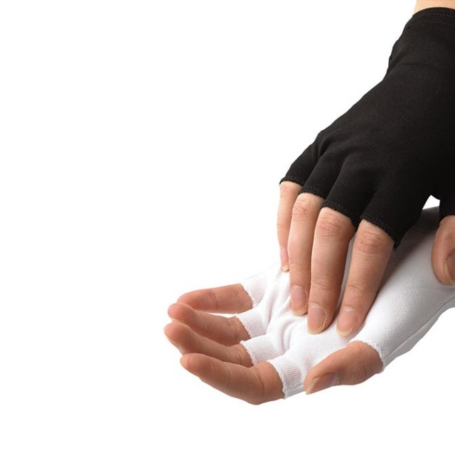 Half-Finger Nylon Glove