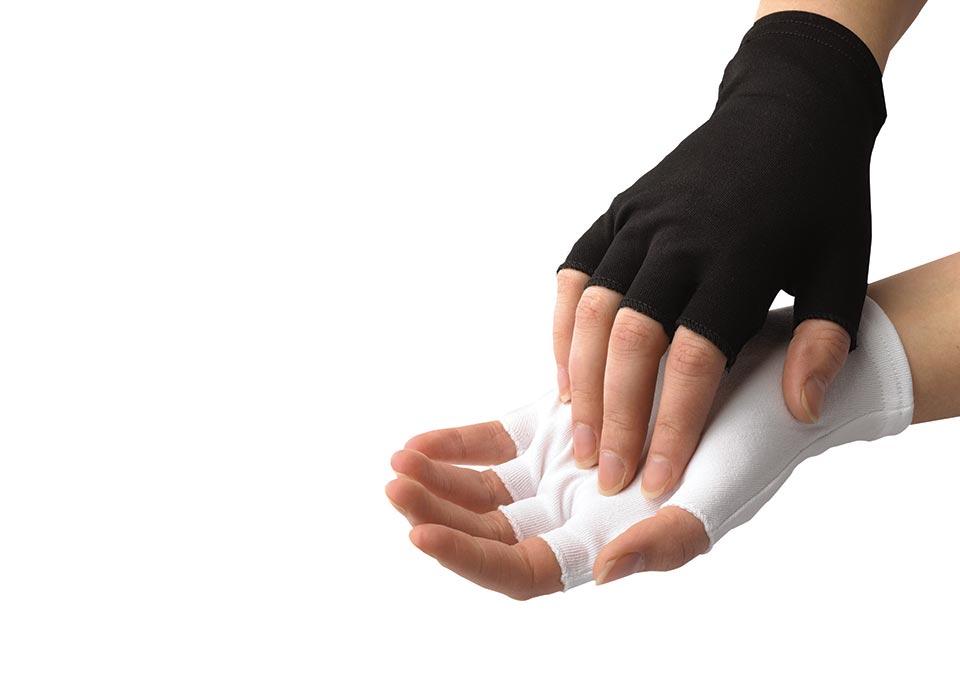 Half-Finger Nylon Glove