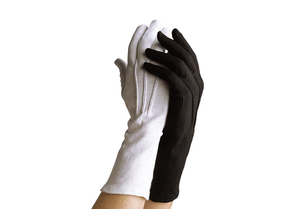 Long-Wristed Cotton Glove