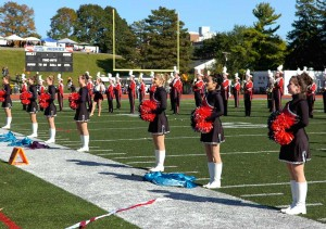 Grove City Girls in Holly Marching Boots